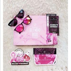 Blender Eyewear Blendo Box for Breast cancer!